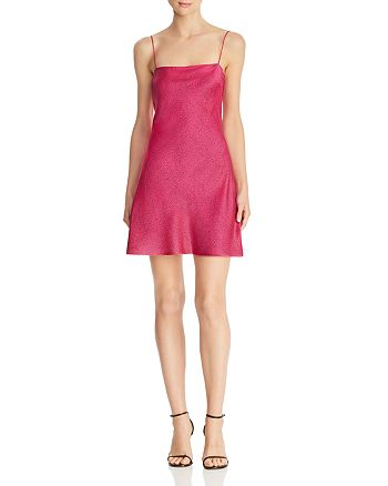 Bec & Bridge - Pink Party Mini Dress