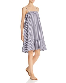 ATM Anthony Thomas Melillo - Cotton Poplin Striped Tent Dress