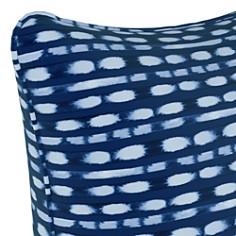 """Sparrow & Wren - Blot Stripe Cobalt Down Pillow, 20"""" x 20"""""""