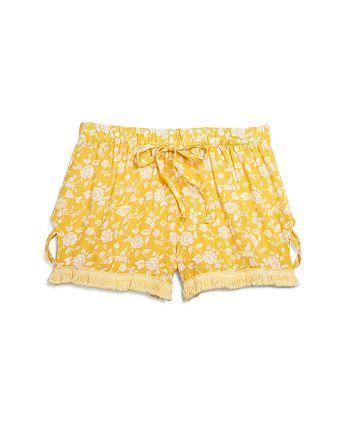 Vintage Havana - Girls' Tie-Front Shorts - Big Kid