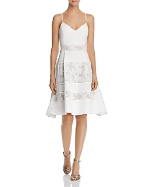 Adelyn Rae Dresses ELYSE LACE-INSET DRESS