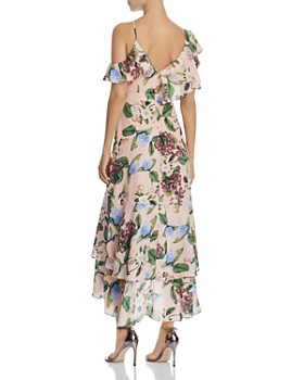 O.P.T - Bryant Cold-Shoulder Floral Dress
