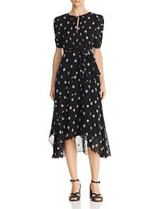 Shoshanna - Savona Floral-Embroidered Dress