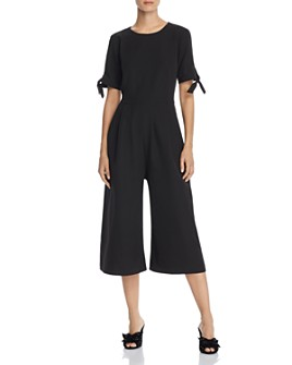 nanette Nanette Lepore - Cropped Wide-Leg Jumpsuit