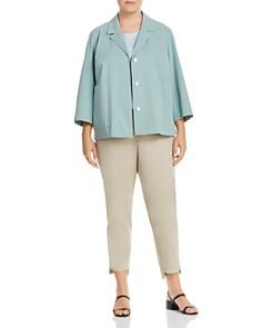 Lafayette 148 New York Plus - Manhattan Step-Hem Slim Pants