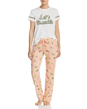 d799afd89a ... PJ Salvage - Avocado-Print Pajama Pants
