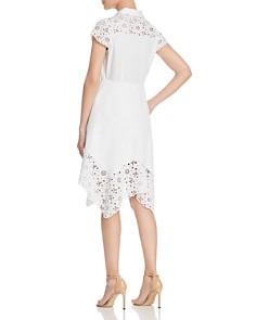 Elie Tahari - Jane Laser-Cut Shirt Dress