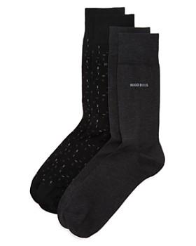 BOSS Hugo Boss - Calf-Height Socks - Pack of 2