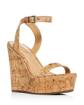 SCHUTZ - Women's Eduarda Platform Wedge Sandals