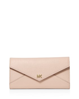MICHAEL Michael Kors - Money Pieces Large Trifold Leather Wallet
