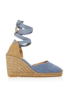 e8e84d2ca ... Castañer - Women's Carina Ankle-Tie Espadrille Wedge Sandals