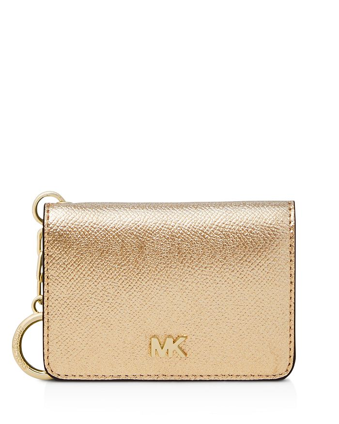MICHAEL Michael Kors - Money Pieces Card Case with Key Ring