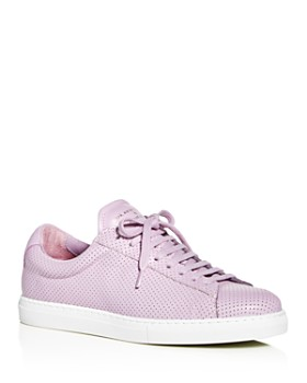 Zespa - Women's ZSP 4 Perforated Low-Top Sneakers
