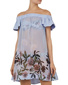 Ted Baker - Belriaa Illusion Dress Swim Cover-Up