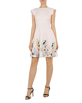 003d09ef76e2a Ted Baker - Bridgt Elegance-Print Dress ...