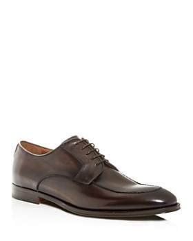 Bruno Magli - Men's Fausto Leather Apron-Toe Oxfords