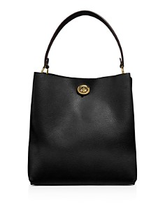 COACH - Charlie Leather Bucket Bag