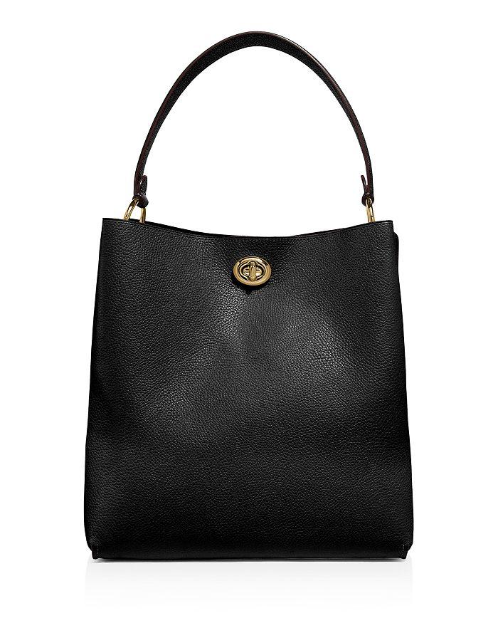 Charlie Leather Bucket Bag
