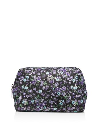 COACH - Large Boxy Posey-Print Cosmetics Case