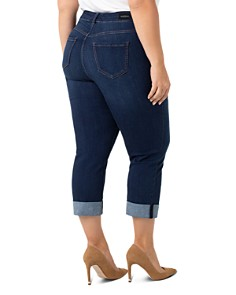 Liverpool Plus - Charlie Cropped Slim Jeans in Lakewood