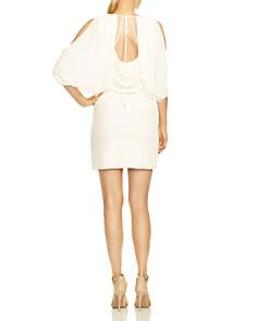 HALSTON HERITAGE - Cold-Shoulder Dress
