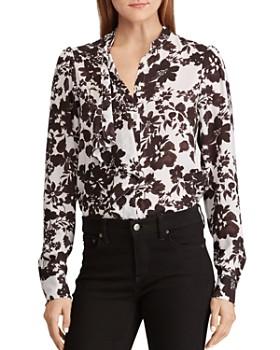 2c2ba85d20532b Ralph Lauren - Floral-Print Ruffle Top ...