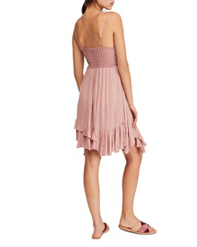 dadbd58ca54 ... Free People - Adella Sleeveless Crochet-Trim Dress