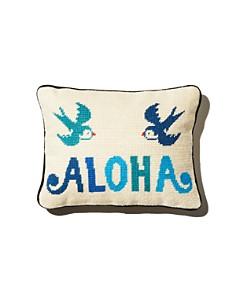 Aloha Zen - Aloha Needlepoint Decorative Pillow