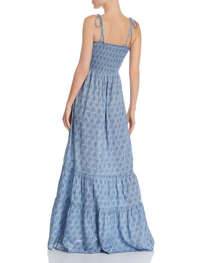 Medallion Smocked Maxi Dress - 100% Exclusive