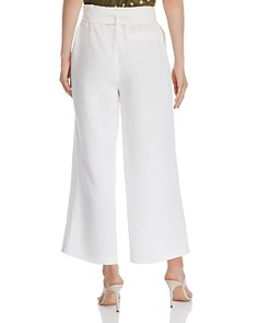 CHRISELLE LIM - Belted Cropped Wide-Leg Pants - 100% Exclusive