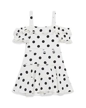 c97ec2099 Bardot Junior - Girls' Isola Polka-Dot Cold-Shoulder Dress - Little Kid ...