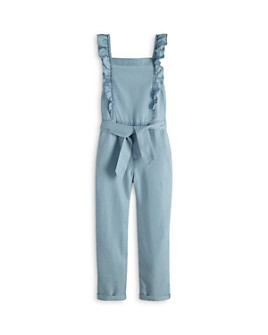 Scotch R'Belle - Girls' Ruffle-Top Jumpsuit - Little Kid, Big Kid
