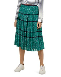 Ted Baker - Colour by Numbers Talarla Pleated Skirt