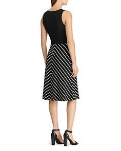 Ralph Lauren - Stripe-Detail Dress