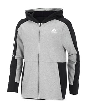 Adidas - Boys' Transitional Full-Zip Hoodie - Big Kid