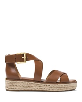 MICHAEL Michael Kors - Women's Darby Leather Espadrille Sandals