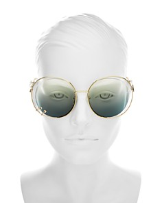 Chloé - Women's Wendy Round Sunglasses, 59mm