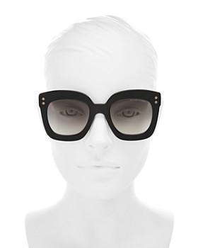 Bottega Veneta - Women's Square Sunglasses, 51mm