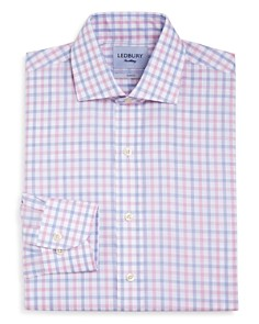 Ledbury - Wistrom Check Slim Fit Dress Shirt