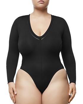Good American - Core Deep-V Bodysuit
