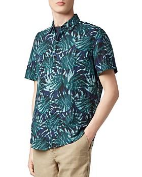 BOSS Hugo Boss - Rash Short-Sleeve Garden-Print Regular Fit Shirt