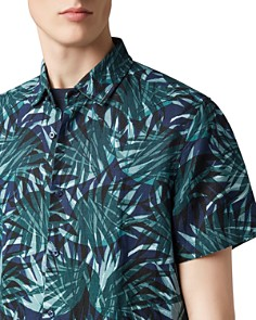BOSS - Rash Short-Sleeve Garden-Print Regular Fit Shirt
