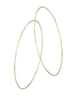 Bloomingdale's - Endless Hoop Earrings in 14K Yellow Gold - 100% Exclusive