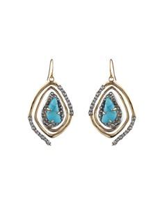 Alexis Bittar - Spiral Drop Earrings