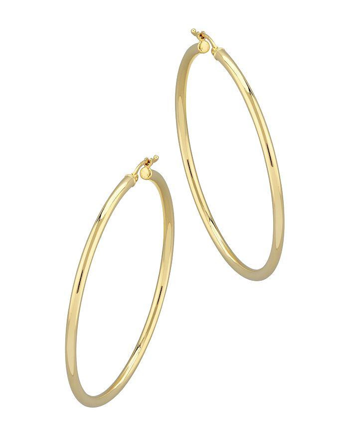Bloomingdale's - Tube Hoop Earrings in 14K Yellow Gold - 100% Exclusive