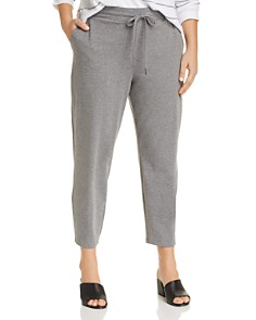 Eileen Fisher Plus - Slouchy Cropped Lounge Pants