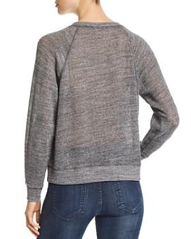 Eileen Fisher - Open-Knit Raglan Sweater