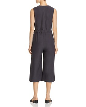 Eileen Fisher Petites - V-Neck Cropped Jumpsuit - 100% Exclusive