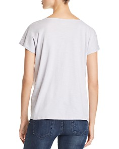 Eileen Fisher - Twist-Front Tee - 100% Exclusive