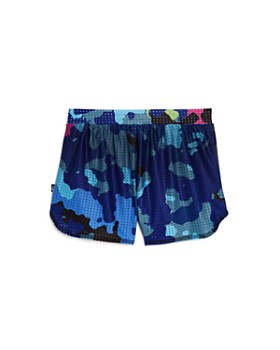 Terez - Girls' Camouflage Mesh Shorts - Little Kid, Big Kid